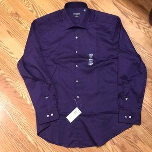HP Men's Van Heusen Slim Fit Stretch Shirt XL